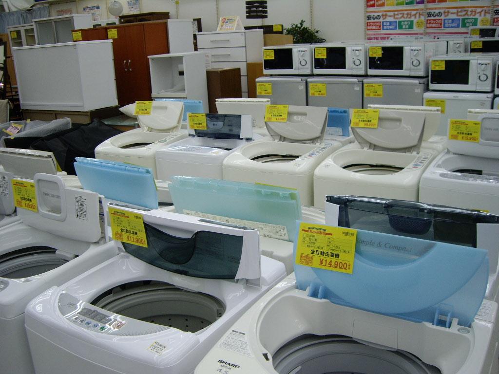 「うっそ!ほとんど新品!」リサイクルショップで賢く家電購入!のサムネイル画像