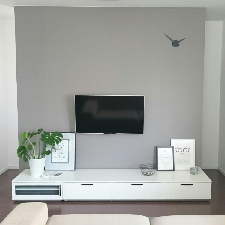え!?テレビを壁掛けにするだけ?おしゃれなお部屋に大変身!のサムネイル画像