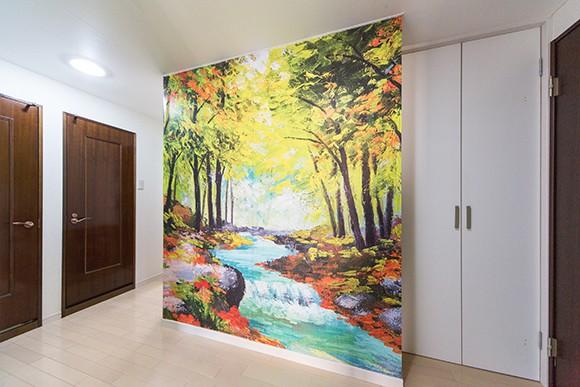 玄関の壁紙をおしゃれにチョイスして個性的な玄関を演出したい!のサムネイル画像