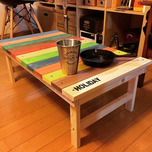 自分好みの折りたたみテーブルをdiyで楽しく作ってみましょう!のサムネイル画像