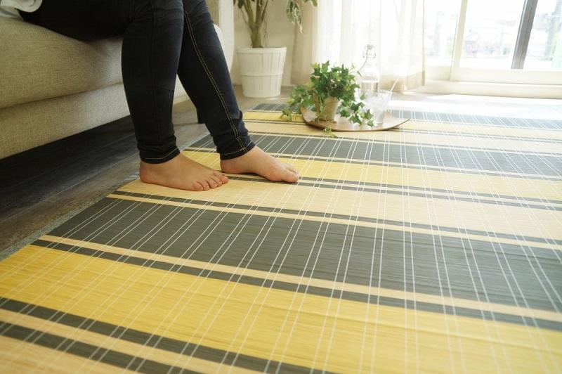 ひんやり夏用カーペットで快適なサマールーム作りしませんか?のサムネイル画像