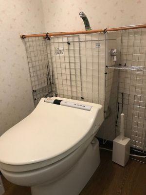 トイレに棚が無くても大丈夫!簡単に収納場所が作れる方法を紹介!の画像