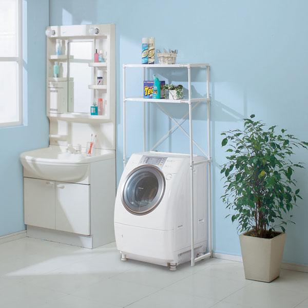 洗濯機とセットで置きたい!人気のランドリーラックをご紹介!のサムネイル画像