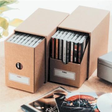 すっきり整理整頓!どんどん増えていくDVDをボックスに収納しよう!のサムネイル画像