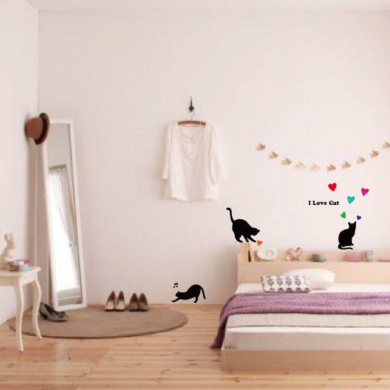 賃貸でもOK!ウォールステッカーで、可愛いお部屋にイメチェン!のサムネイル画像