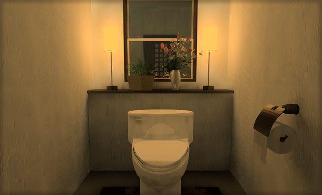 【リラックス空間】トイレのレイアウトとインテリアを考えましょうのサムネイル画像