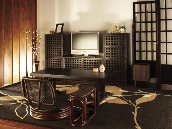 和風家具でお洒落に、一人暮らしの部屋を和モダンにコーディネート!のサムネイル画像