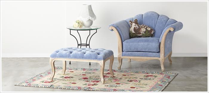 【お部屋の主役は大人可愛く☆】可愛いソファで毎日ハッピーに♪のサムネイル画像