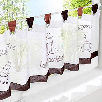 短いカーテンが可愛い!お洒落なカフェ風にお部屋をアレンジのサムネイル画像