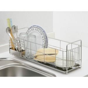 キッチンの必須アイテム!食器を洗った後は、便利な水切りを使おう。のサムネイル画像