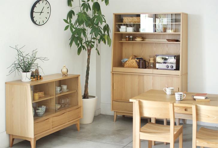 センスの良い部屋は収納家具が決め手。北欧風の棚、紹介します。のサムネイル画像