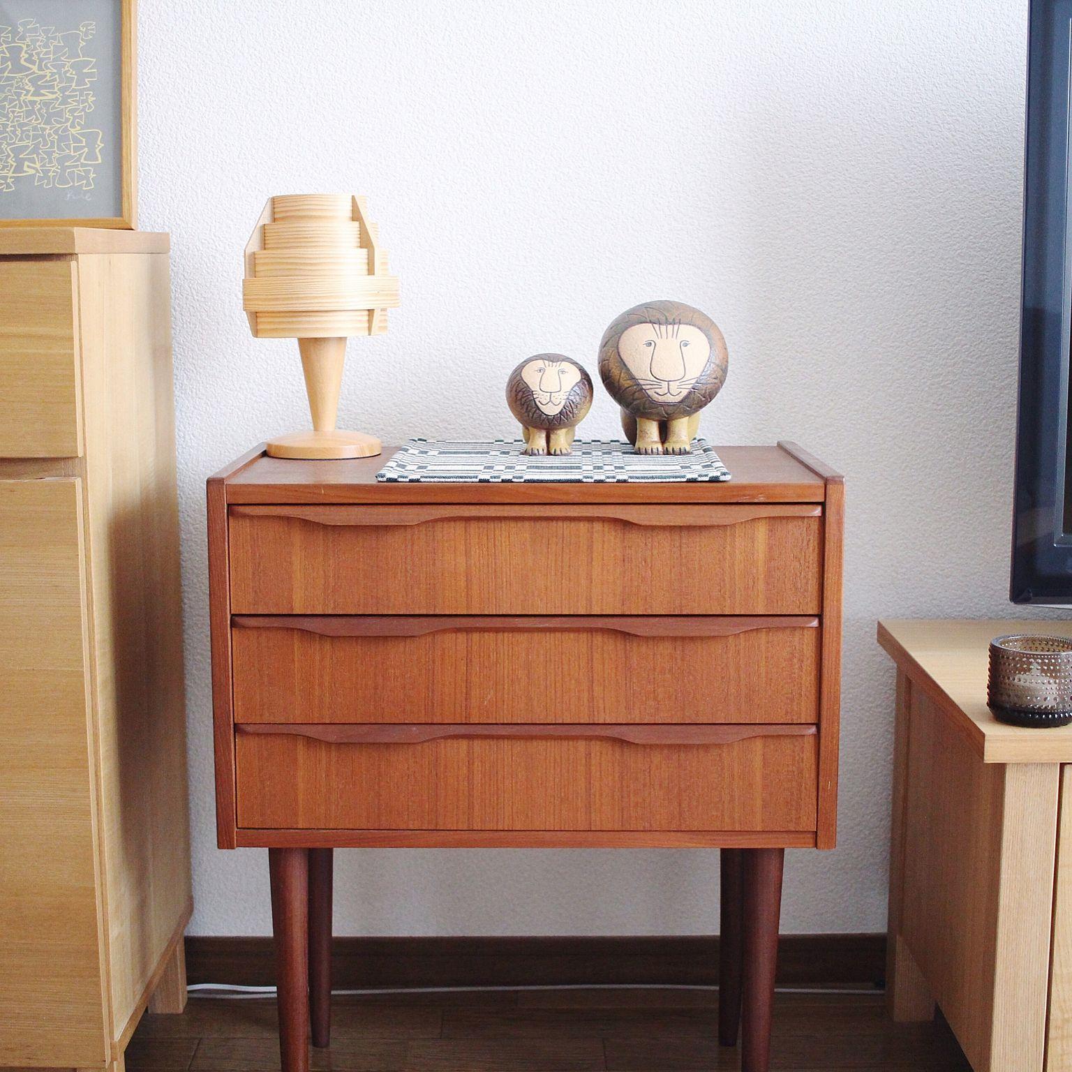 狭い部屋でも置ける可愛い家具【ミニチェスト】をご紹介します!のサムネイル画像