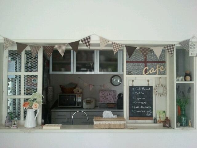 カウンターキッチンを、おしゃれに目隠しする方法をご紹介します!のサムネイル画像