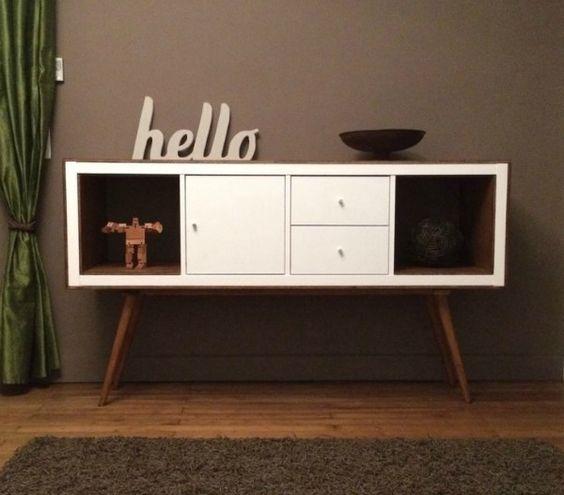 IKEAの収納棚が万能すぎると話題!KALLAXのIKEAHACKを真似しようのサムネイル画像