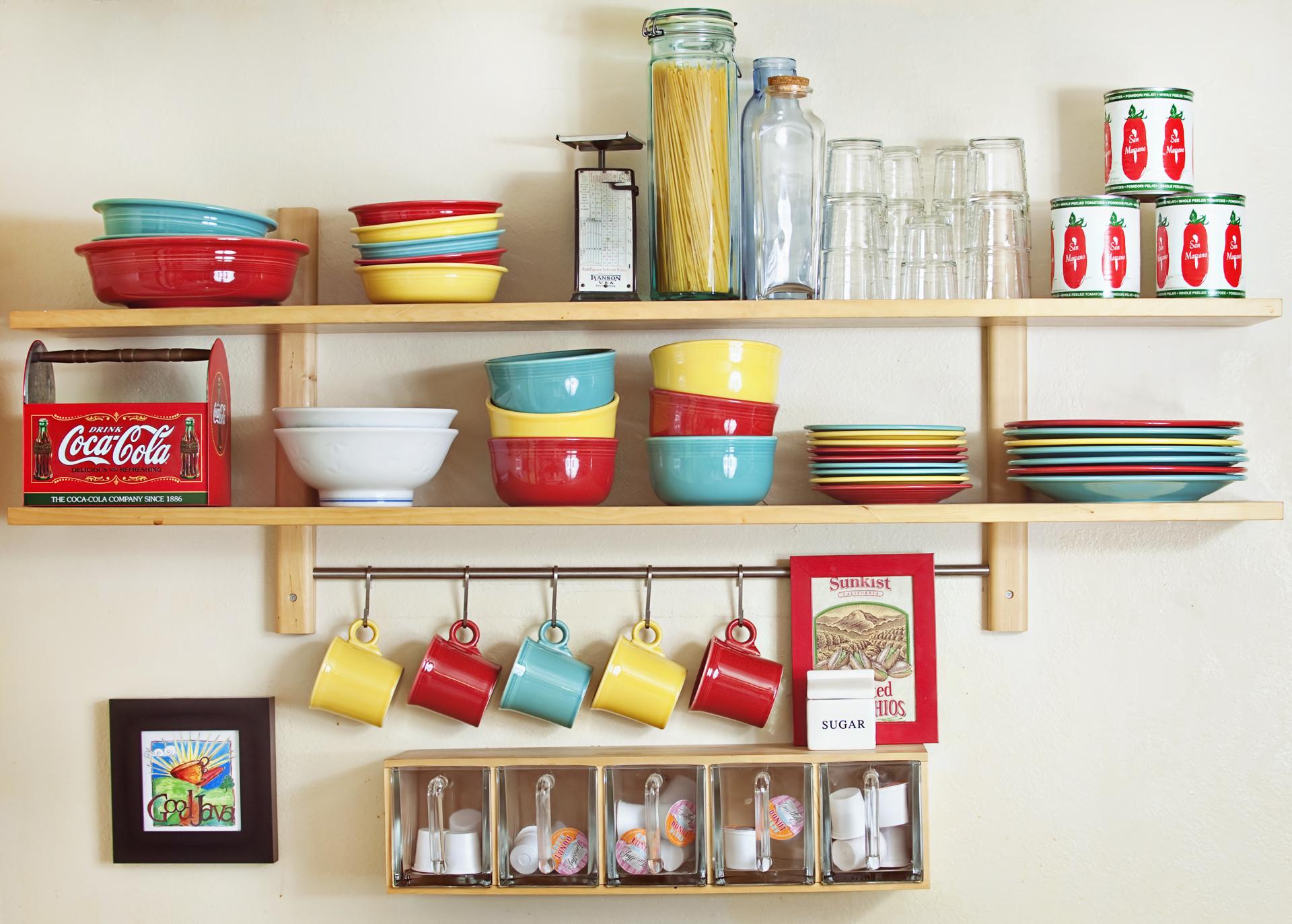 ちょっとしたアイデアでおしゃれな見せる収納のキッチンが実現出来るのサムネイル画像