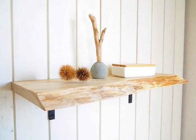 こんなの欲しい!カフェ風のおしゃれな壁掛け棚を私の家にも!のサムネイル画像