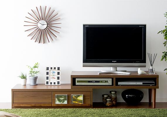 テレビボードを変えるだけ!テレビ周りも北欧インテリアで統一のサムネイル画像