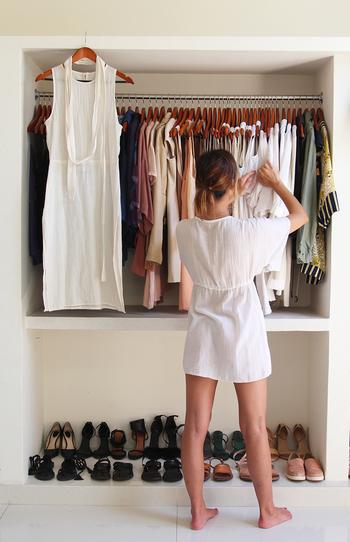【簡単】衣替えを楽々に終わらせる収納アイデアとは?【断捨離】のサムネイル画像