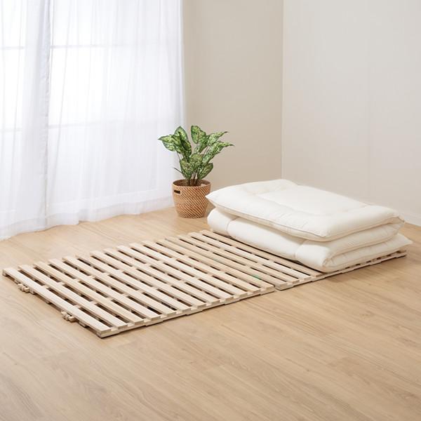 うんざりする布団のカビ…ニトリの【すのこベッド】が解決します!のサムネイル画像