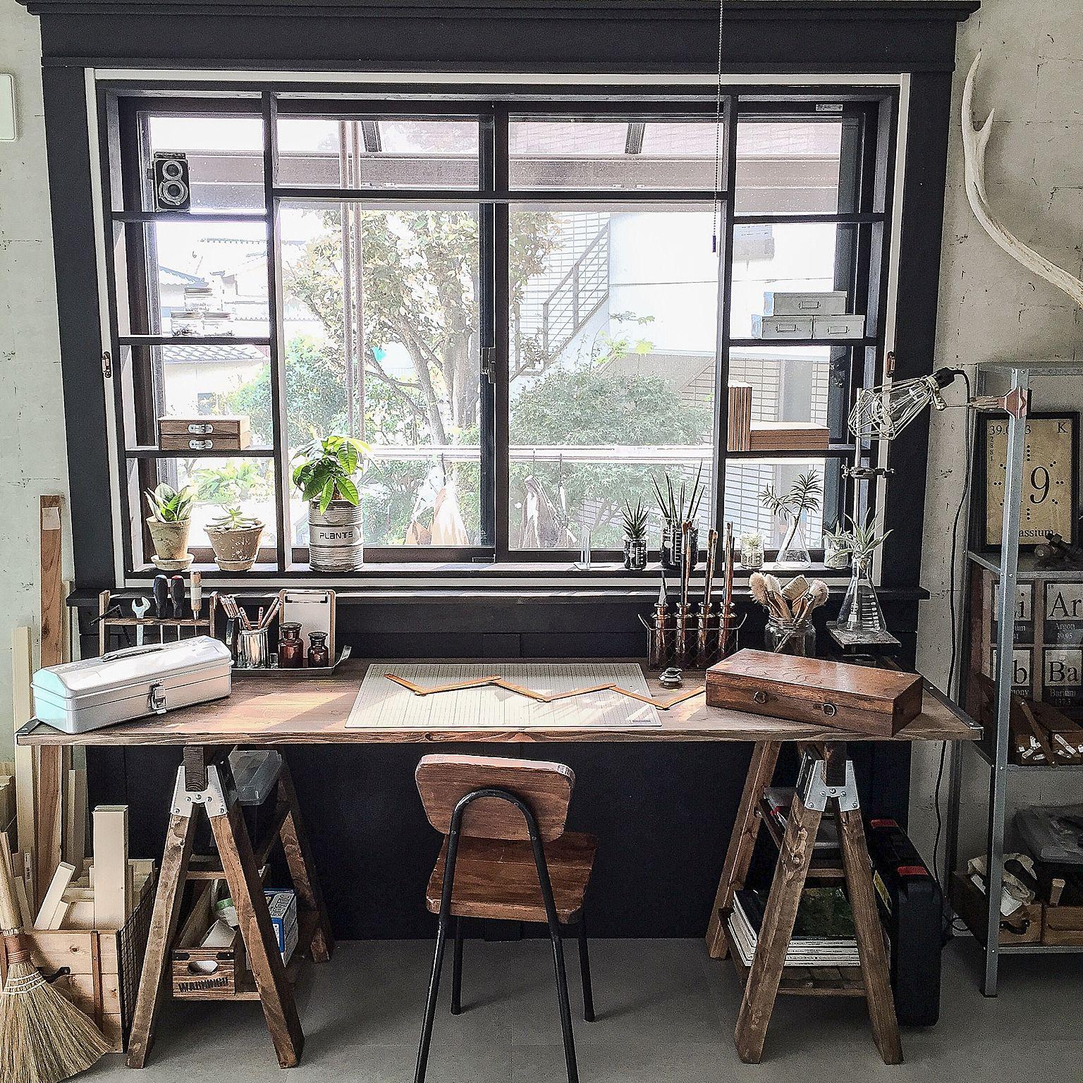 窓枠もインテリアの一部です!窓枠のdiy、お手入れなどまとめましたのサムネイル画像