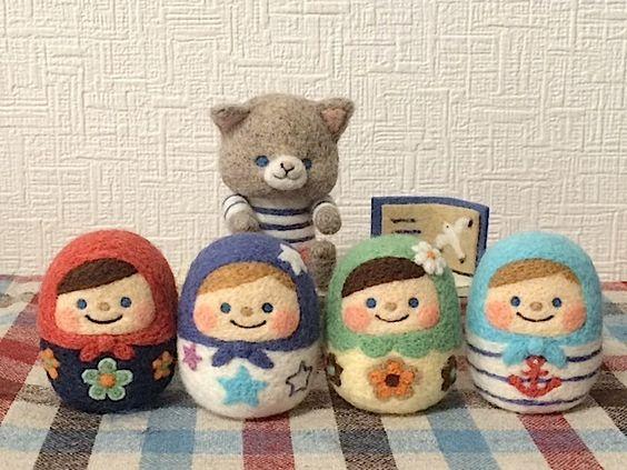 羊毛フェルトの作り方!初心者でも簡単かわいい雑貨を作ろうのサムネイル画像