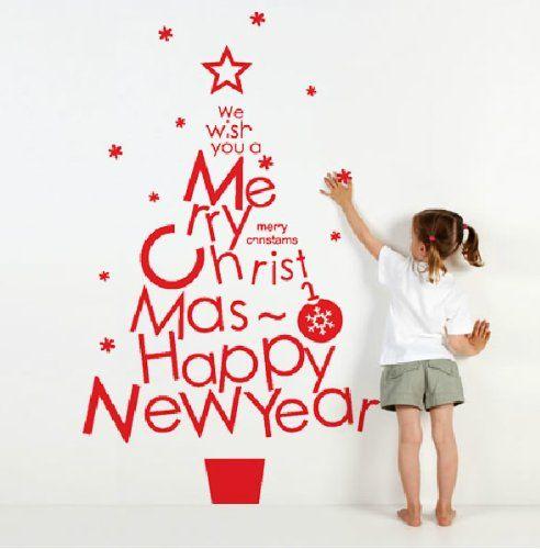 自作ウォールステッカーで模様替え!クリスマスシーズンも大活躍♪のサムネイル画像