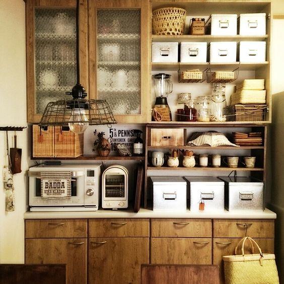 カントリー風食器棚の作り方!おしゃれなキッチンを演出するためにのサムネイル画像