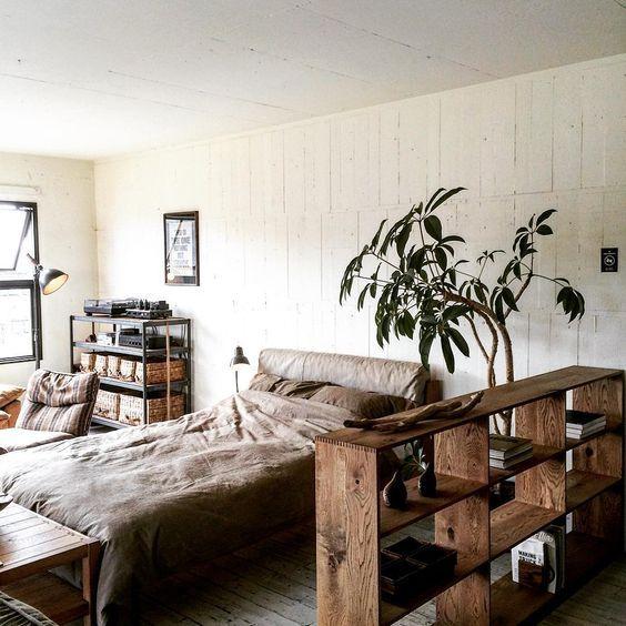 一石二鳥の大活躍♡間仕切りに使える収納家具を活用しよう!のサムネイル画像