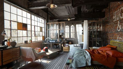 ブルックリンスタイルのインテリアでワンランク上の家づくりのサムネイル画像
