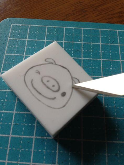 消しゴムはんこを100均で作る方法は?構図の書き方やイラストも紹介のサムネイル画像