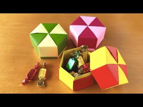 折り紙で作る箱の種類と方法は?ハートから六角形まで紹介しますのサムネイル画像