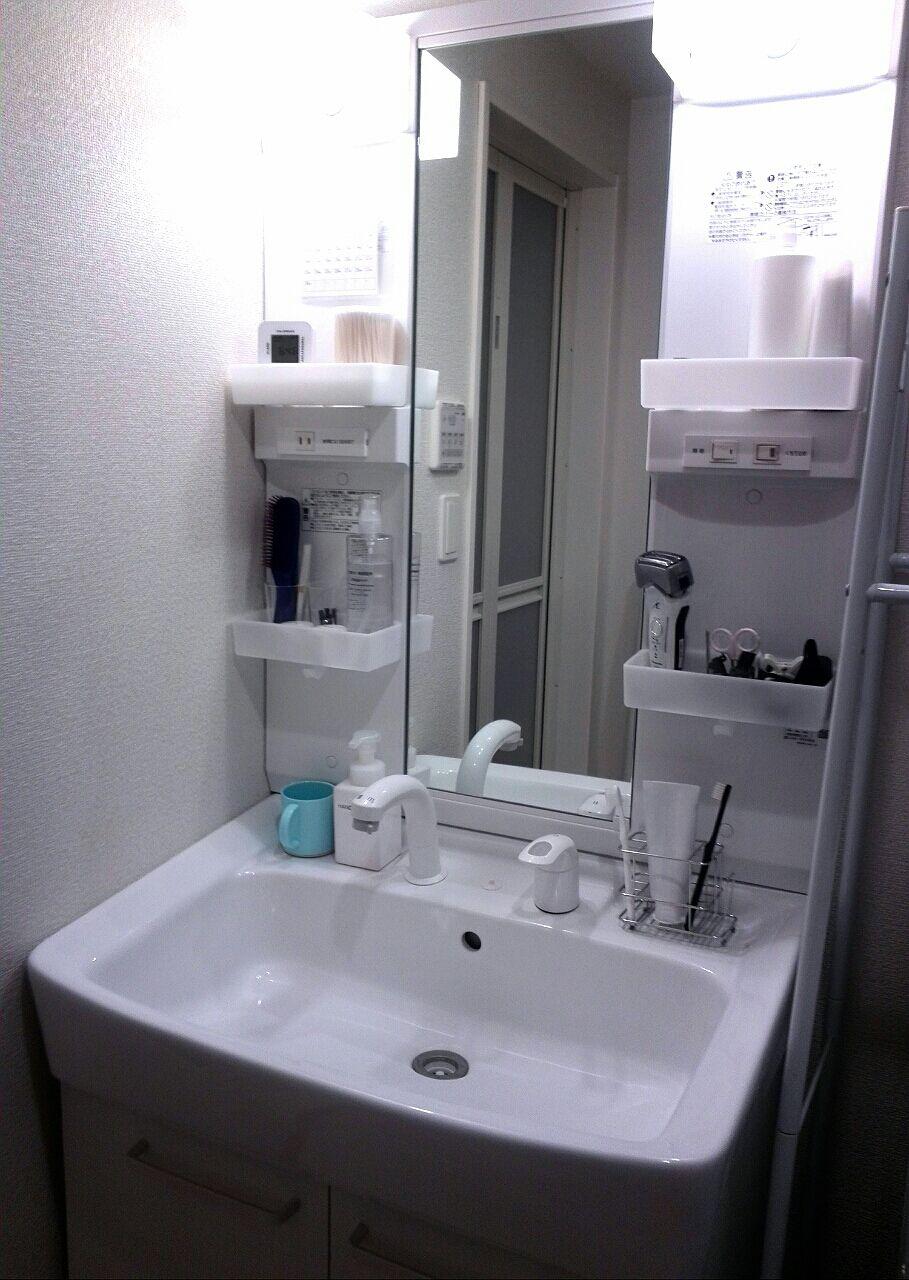片づかない洗面所をスッキリきれいに収納する方法を紹介します!のサムネイル画像