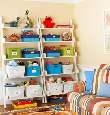 子供部屋の収納もおしゃれにしたい!自分で片付けたくなる収納家具☆のサムネイル画像