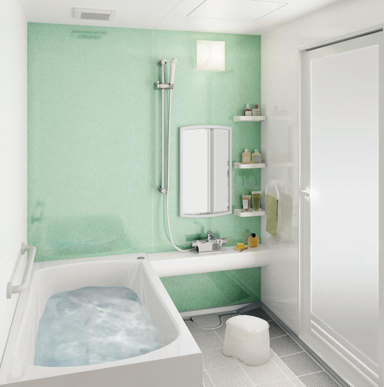 浴室収納のコツは空間を上手く使うこと☆浴室のカビ対策にも!のサムネイル画像