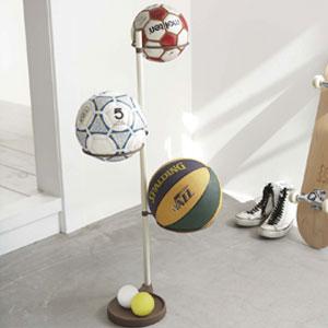 コロコロするし球体を片付けるのは難しい!ボールの収納術まとめ!のサムネイル画像