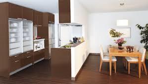 おしゃれな対面キッチンカウンター収納で彩り豊かな生活を!のサムネイル画像
