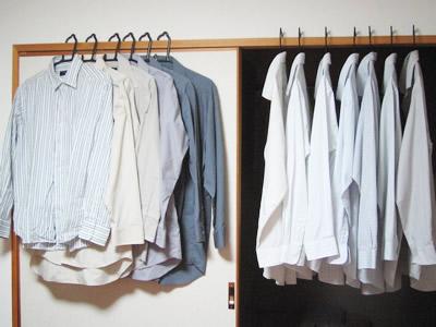 上手に収納してしわ知らず!シャツの収納方法をまとめました!のサムネイル画像
