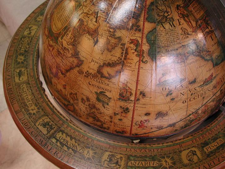 【部屋作り】地球儀インテリアで知的でおしゃれな部屋にしてみよう!のサムネイル画像