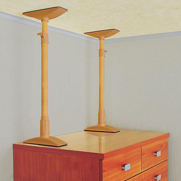 耐震対策してますか?家具の転倒防止に!おすすめ突っ張り棒特集!のサムネイル画像