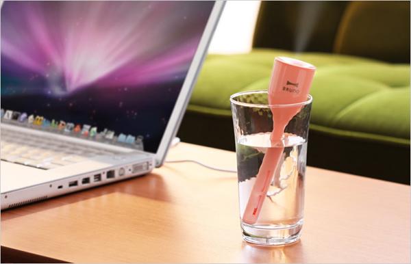 卓上で使える、かわいくて便利で機能的な加湿器を集めました☆のサムネイル画像