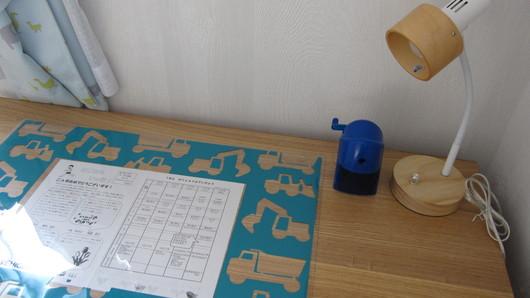 学習机を汚したくない!そんな時はデスクマットを使いましょう!のサムネイル画像