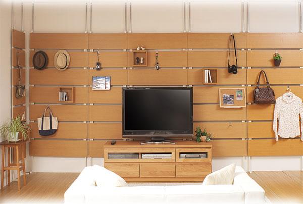 あこがれの北欧家具風だって出来る。diyで壁面収納がオススメ!のサムネイル画像
