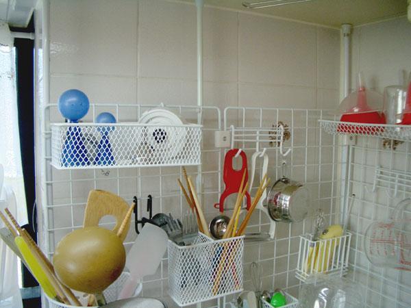 【キッチン】ワイヤーネットを使ってキッチン収納!!!【ワイヤー】のサムネイル画像