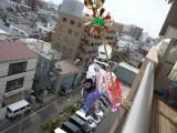 マンションのベランダも設置可能♪こどもの日はこいのぼりを飾ろう!のサムネイル画像