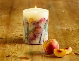 押し花で簡単、ボタニカルキャンドルを手作りして楽しみませんか?のサムネイル画像