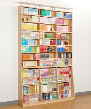 平積みしてしまいがちな文庫本は本棚へ!文庫本にも使える本棚まとめのサムネイル画像