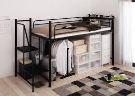 ロフトベッドでお部屋すっきり!!スペース有効活用のすすめ!のサムネイル画像
