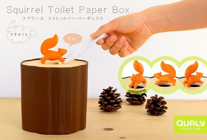 トイレットペーパーケースを活用しませんか?可愛いんです♪♪のサムネイル画像