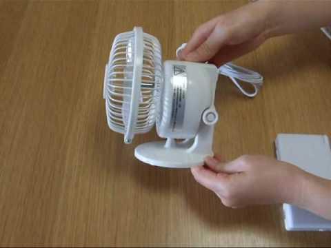 涼しくする以外の機能も満載!多機能な小型の扇風機まとめ!のサムネイル画像