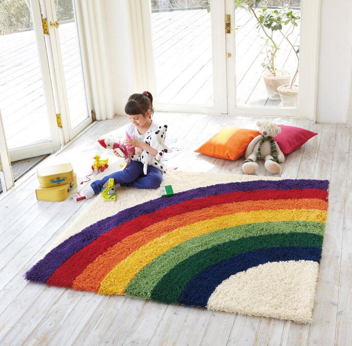 子供部屋にこそラグを敷こう!子供が喜ぶ可愛いラグが大集合!のサムネイル画像